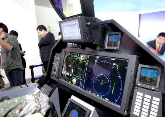Shenyang J-31 cockpit