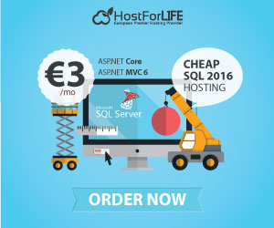 http://hostforlifeasp.net/European-SQL-Server-2016-Hosting