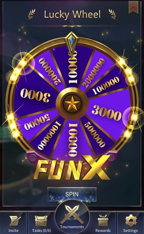 Anda akan memperoleh 3000 hingga 2000000 Coins secara acak sesuai keberuntungan Anda.