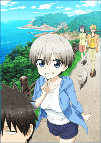 الحلقة 1 من انمي Uzaki-chan wa Asobitai! مترجم