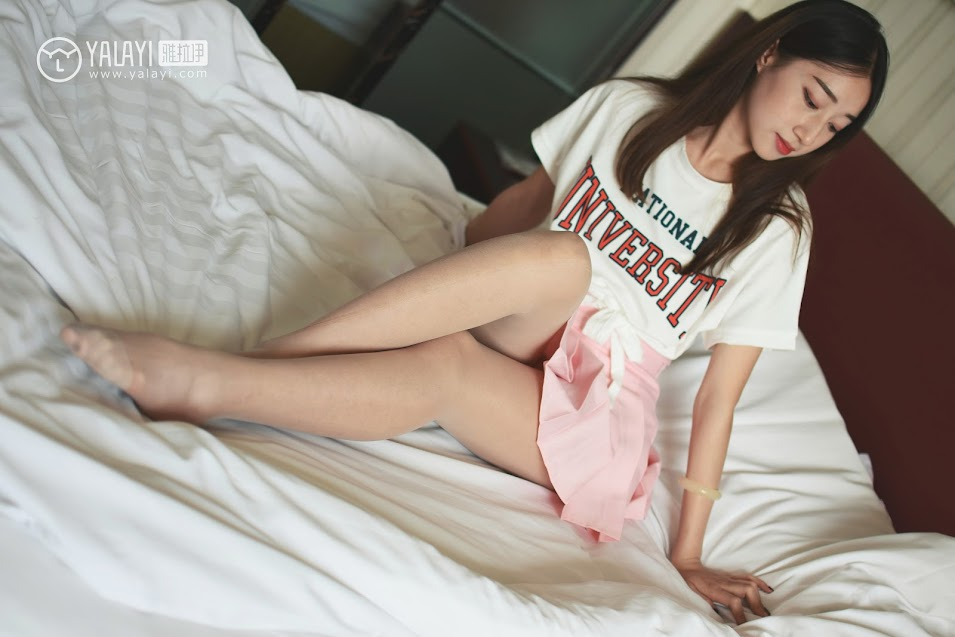 YALAYI雅拉伊  2018.06.14 NO.010 可爱啦啦队服 木晓雨