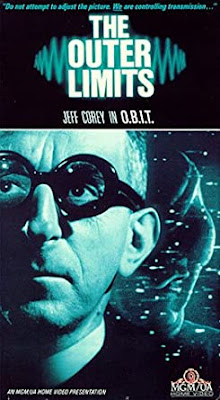 VHS cover art, O.B.I.T., episode of The Outer Limits, 1963