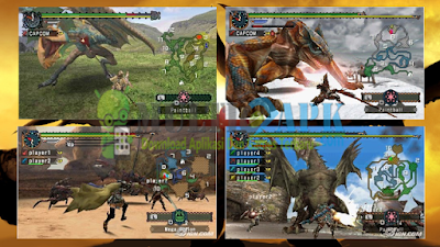 Game Monster Hunter Freedom 2 ISO CSO PPSSPP High Compress For Android