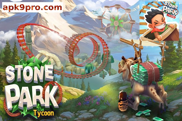 Stone Park: Prehistoric Tycoon v1.3.1 Apk + Mod (File size 53 MB) for android