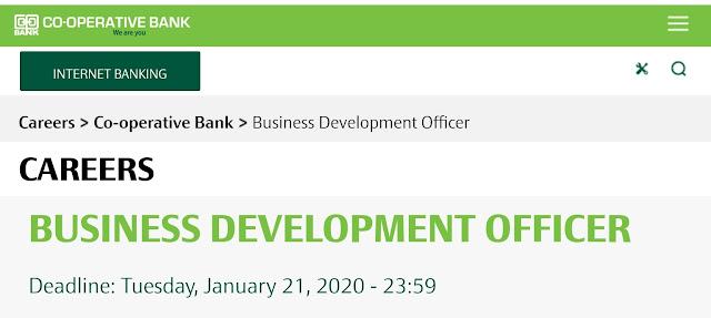 Cooperative Bank of Kenya Careers