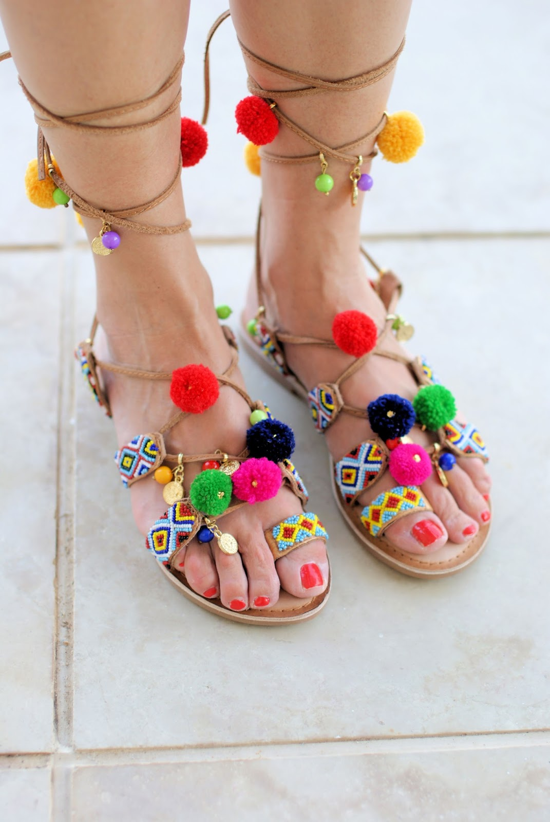 Gioseppo Omahas sandals on Fashion and Cookies fashion blog, fashion blogger style