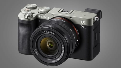 Sony announces About camera A7C At $ 1799