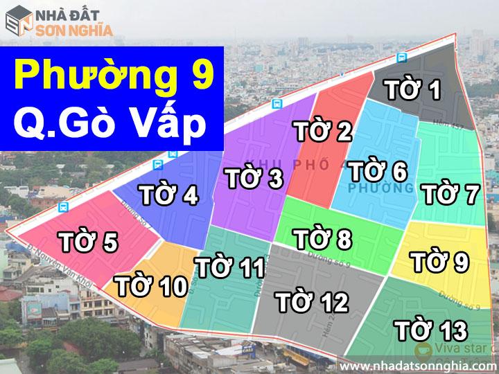 Thông tin quy hoạch phường 9 quận Gò Vấp