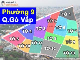 Bản đồ quy hoạch lộ giới hẻm phường 9 quận Gò Vấp HCM