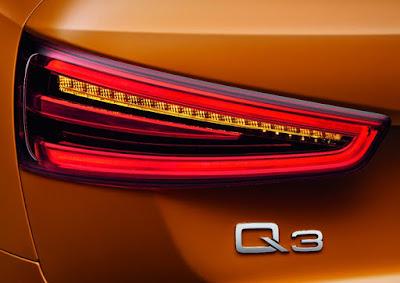 Audi Q3 SUV Taillight Image