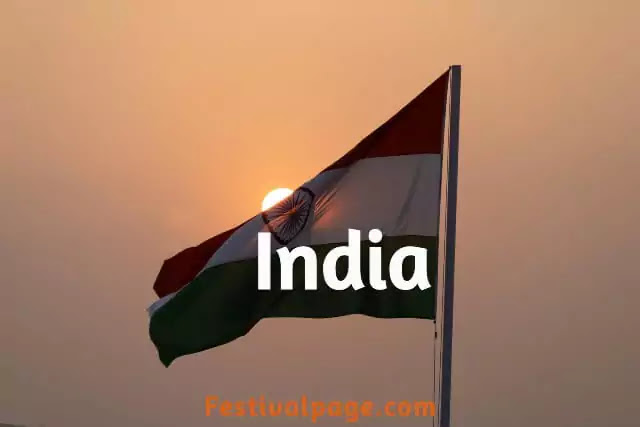 india full form, india flag