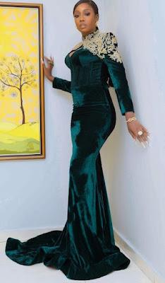 Latest Velvet Material Styles for Ladies