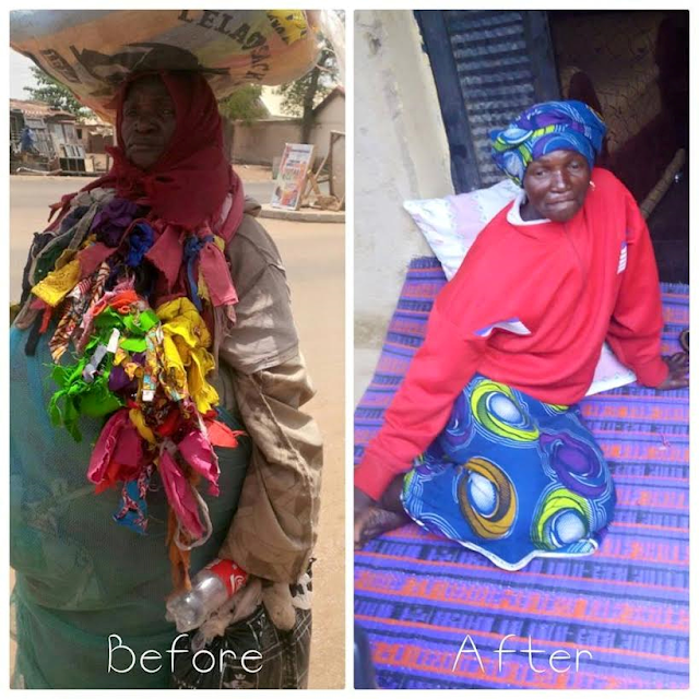 Photos: Mentally challenged woman regains her sanity at Deeper Life crusade in Bauchi