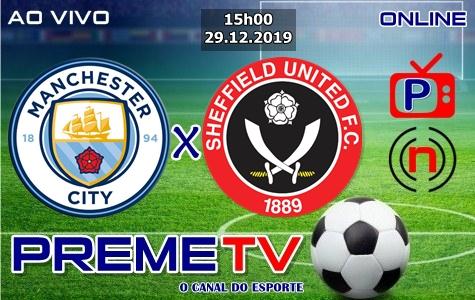 Manchester City x Sheffield Ao Vivo