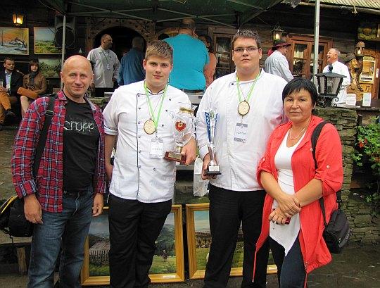 Tomáš Janíček i Vojta Hacsik oraz my