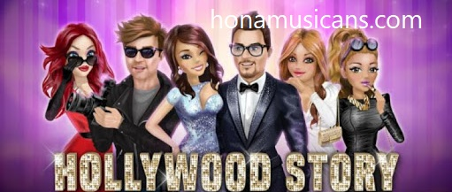 تحميل لعبة ملكة الموضة للاندرويد أحدث إصدار Hollywood Story