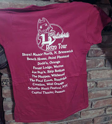 Kinderhook t-shirt with club line up
