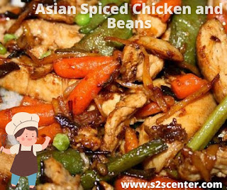 Asian Spiced Chicken and Beans