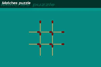 GAME MATCHES (PUZZLE UNTUK MELATIH PENALARAN)