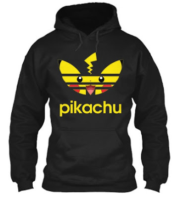 Pikachu Adidas T Shirt Hoodie Sweatshirt Sweater Tank Top. GET IT HERE
