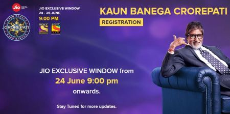 KBC Registration for JIO User