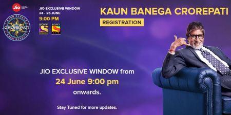 KBC Registration for JIO User