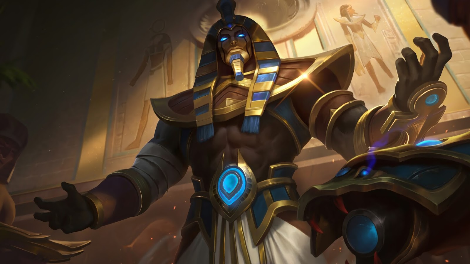 Wallpaper Roger Anubis Skin Mobile Legends HD for PC