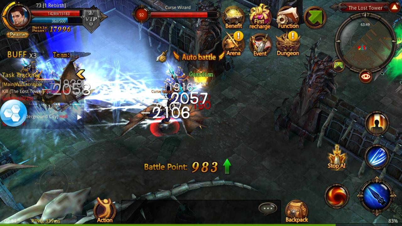 Mu Origin Sea English Apk Mod V1 2 0 Game Play Download