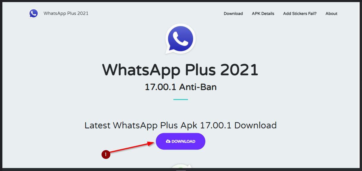 download wa plus apk versi heymods