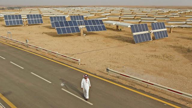 Arabia Saudita quiere convertirse en potencia mundial en producción de energía solar