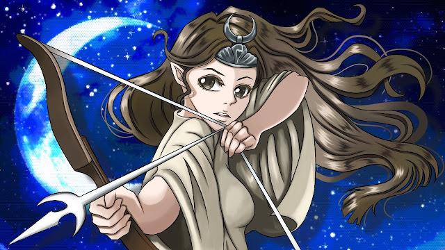 Artemis (free anime images)