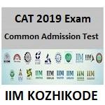 IIM CAT 2019 Admission Form
