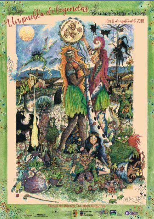Un pueblo de leyendas: Fiesta de la mitología cantabra en Barriopalacio de Anievas