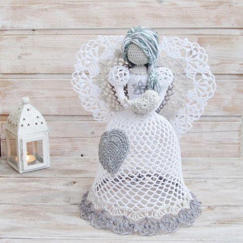 DIY Handmade Anio ki na szyde ku 8 wzor w i schemat w