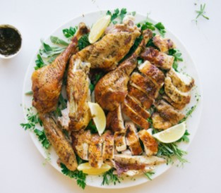 Chimichurri Turkey