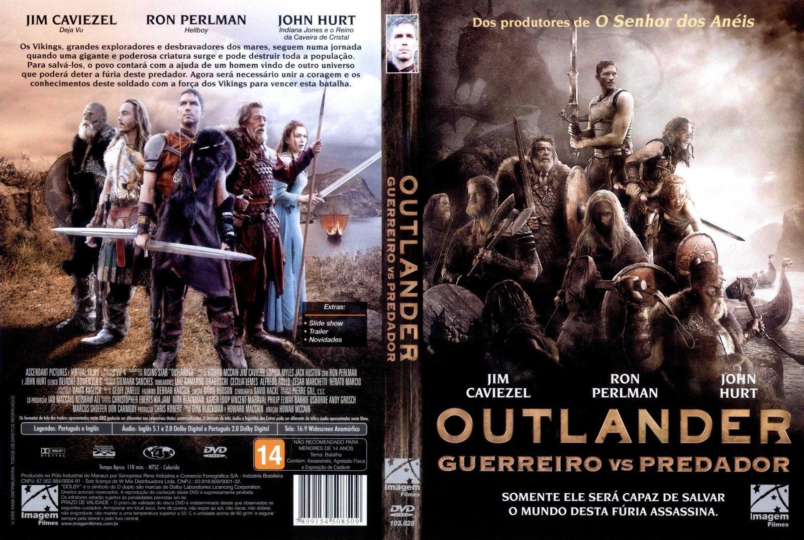 o filme outlander guerreiro vs predador dublado