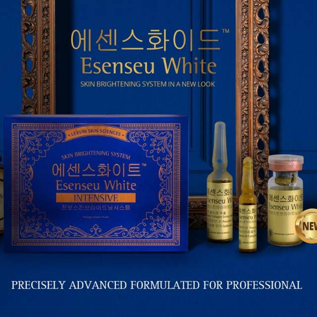 Esenseu white intensive box essenseu white brightening system