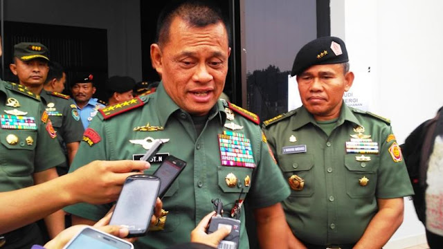 Ini Penjelasan Lengkap Panglima TNI Soal Adanya Institusi Pesan 5.000 Senjata