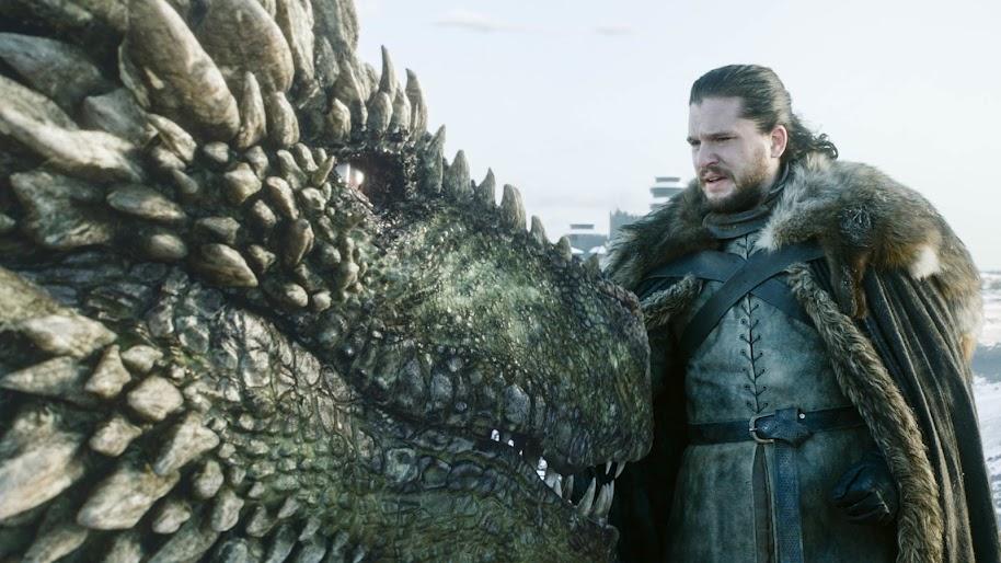Jon Snow Dragon Game Of Thrones 4k Wallpaper 83