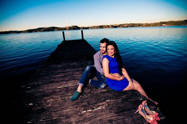 ensaio de fotos casal no pôr do sol