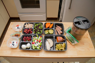 An easy meal prep for Shift Shop week 1!