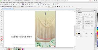 Cara Membuat X Banner Wedding Dengan Coreldraw