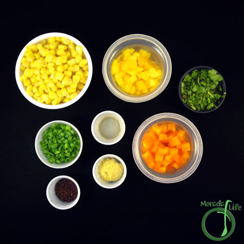 Morsels of Life - Mango Corn Salsa Step 1 - Gather all materials.