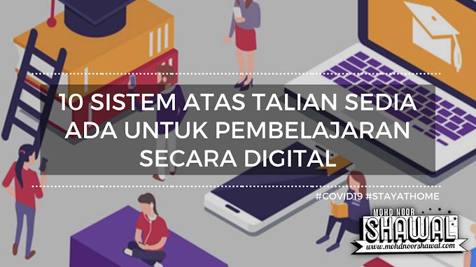 10 Sistem Atas Talian Sedia Ada Untuk Pembelajaran Secara Digital #Covid19 #StayAtHome