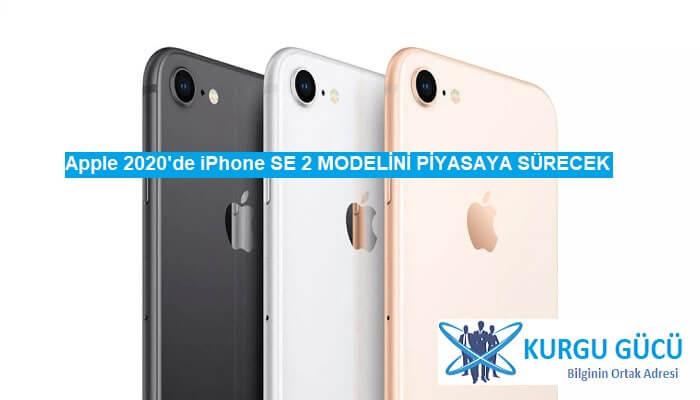 Apple iPhone SE 2: iPhone 8 Tasarımlı 2020'de Geliyor! - Kurgu Gücü