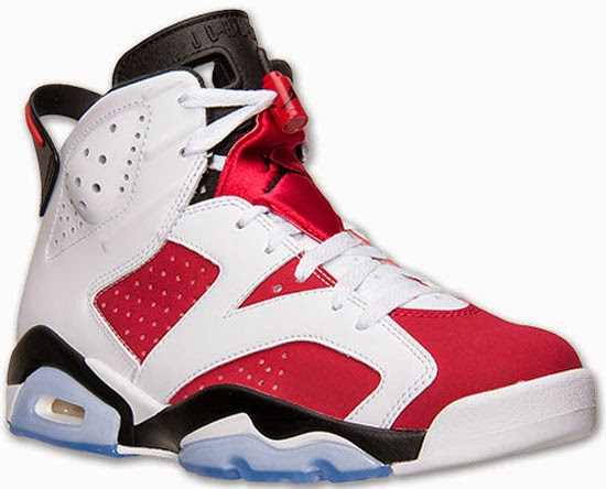 new styles 3168c cec13 Air Jordan 6 Retro White Carmine-Black Release Reminder