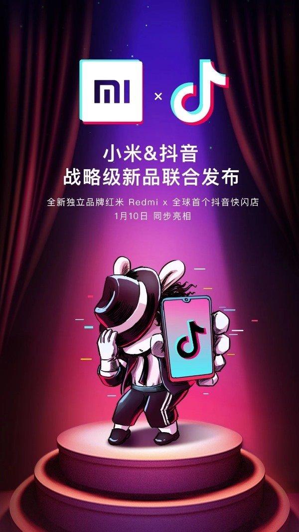 xiaomi redmi with tiktok strategic partnership for new products