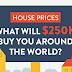 Here's The Property $250k Will Buy You In 19 Iconic Capital Cities #infographic