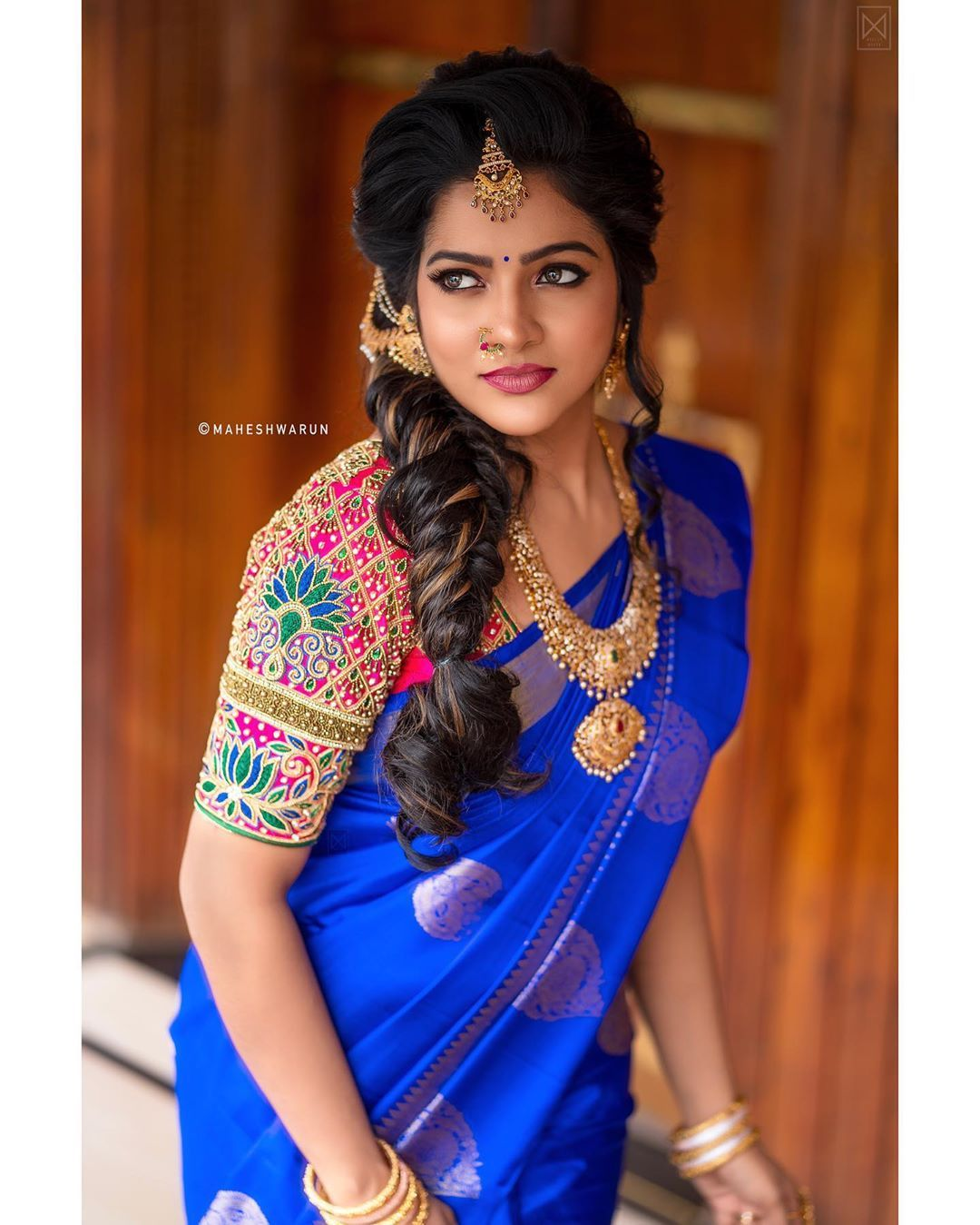 vj chithra saree photos