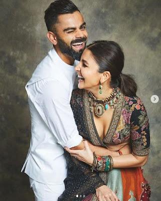 virat kohli with wife